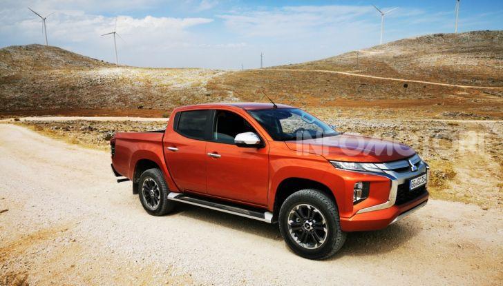 Prova nuovo Mitsubishi L200 2020: il pickup solido come la roccia! - Foto 10 di 44