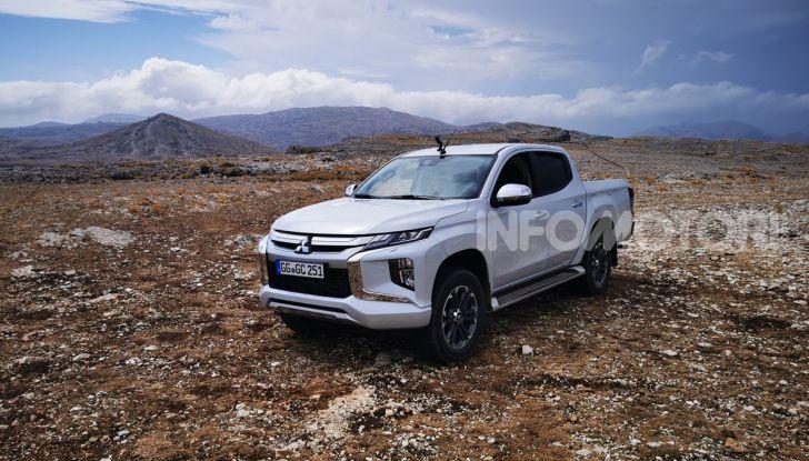 Prova nuovo Mitsubishi L200 2020: il pickup solido come la roccia! - Foto 4 di 44