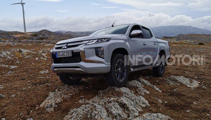 Prova nuovo Mitsubishi L200 2020: il pickup solido come la roccia! - Foto 3 di 44