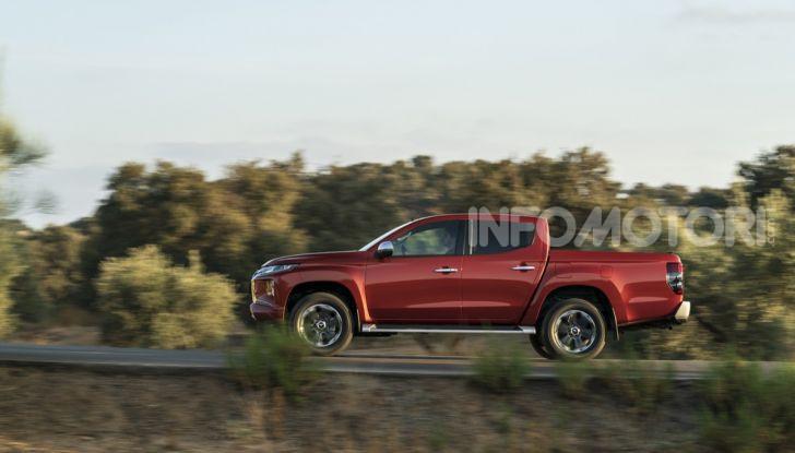 Prova nuovo Mitsubishi L200 2020: il pickup solido come la roccia! - Foto 19 di 44