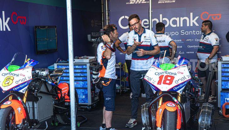 Due giorni in Moto E: Energica ed Enel X per il lato elettrico della MotoGP - Foto 7 di 41