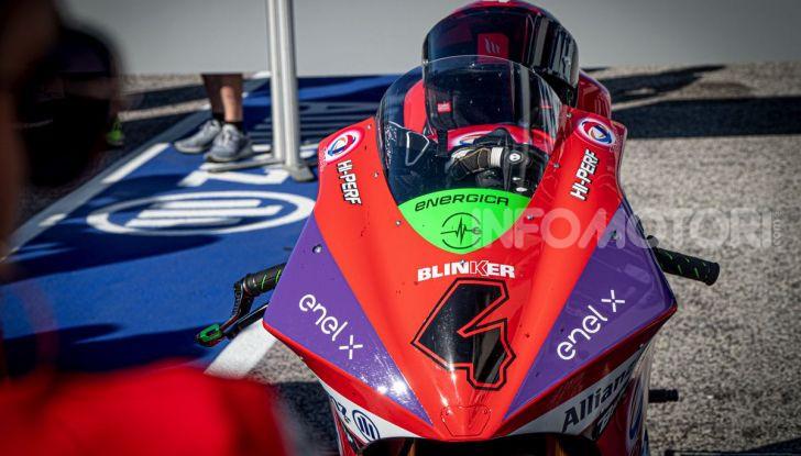 Due giorni in Moto E: Energica ed Enel X per il lato elettrico della MotoGP - Foto 16 di 41