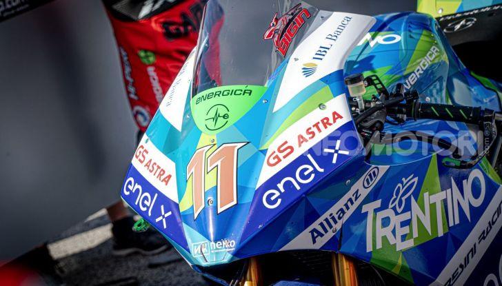 Due giorni in Moto E: Energica ed Enel X per il lato elettrico della MotoGP - Foto 17 di 41