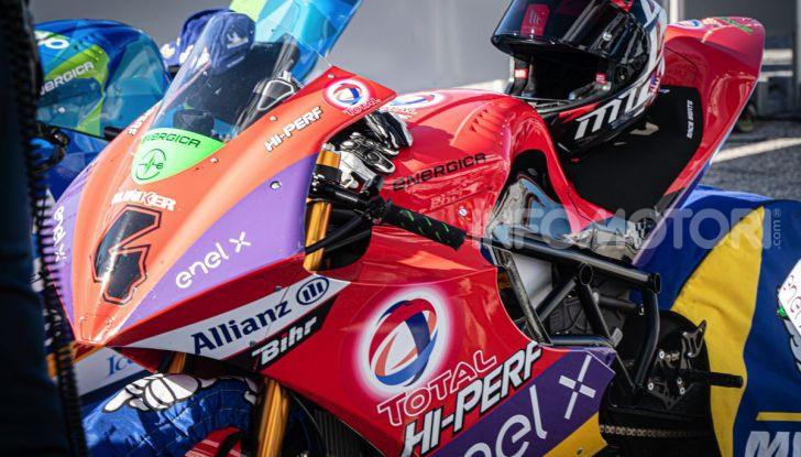 Due giorni in Moto E: Energica ed Enel X per il lato elettrico della MotoGP - Foto 21 di 41