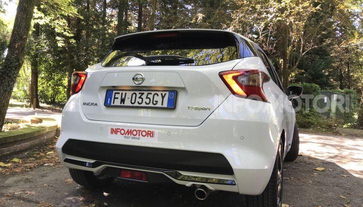 Nissan Micra N-Sport prova su strada e prestazioni - Foto 10 di 29