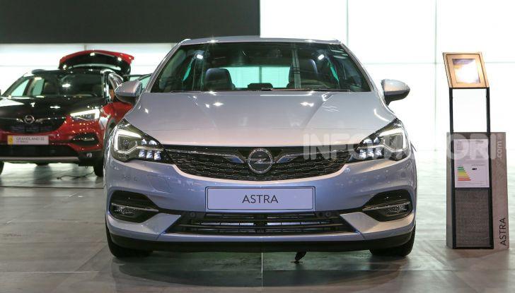 Opel Astra 2020: molto aerodinamica e tutta nuova - Foto 1 di 13