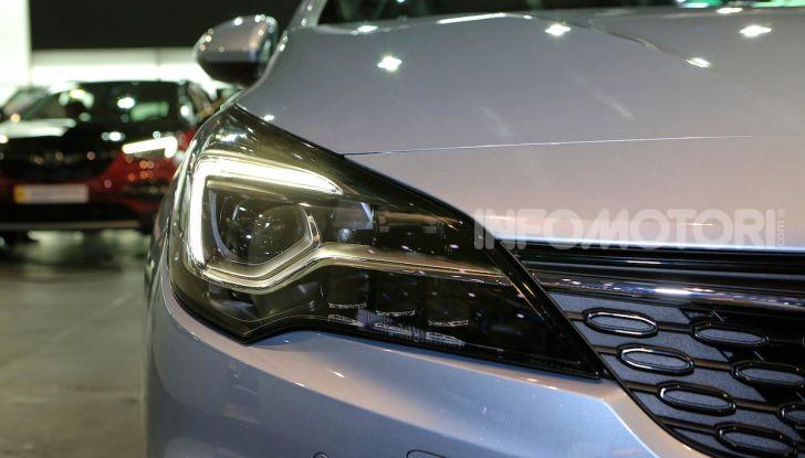 Opel Astra 2020: molto aerodinamica e tutta nuova - Foto 12 di 13