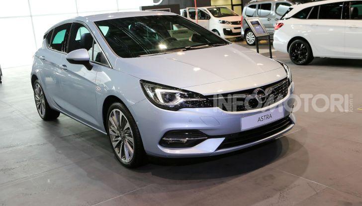 Opel Astra 2020: molto aerodinamica e tutta nuova - Foto 13 di 13