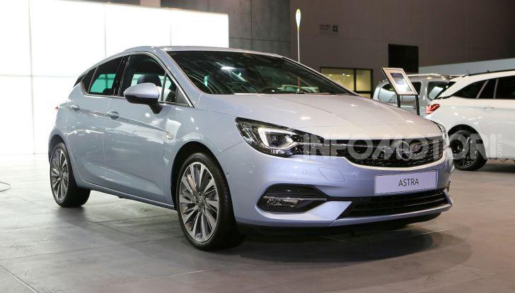 Opel Astra 2020: molto aerodinamica e tutta nuova - Foto 2 di 13