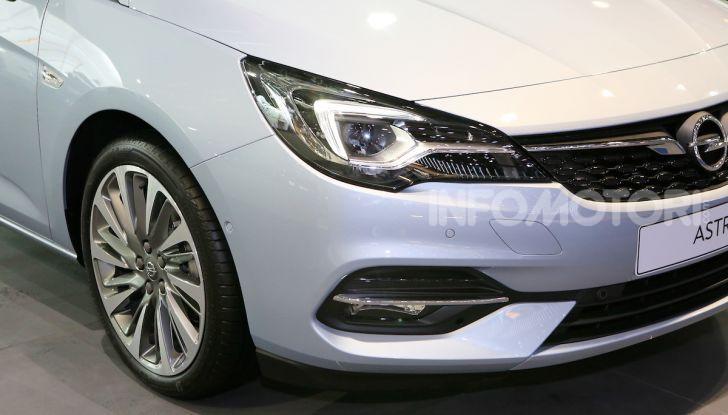 Opel Astra 2020: molto aerodinamica e tutta nuova - Foto 3 di 13