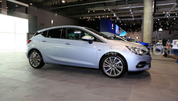 Opel Astra 2020: molto aerodinamica e tutta nuova - Foto 5 di 13