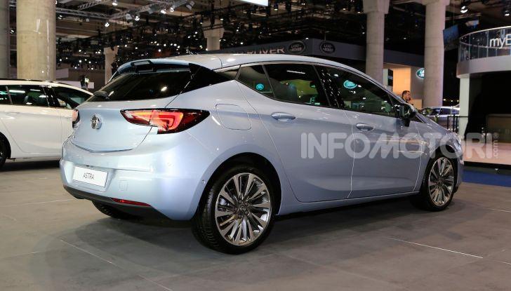 Opel Astra 2020: molto aerodinamica e tutta nuova - Foto 6 di 13