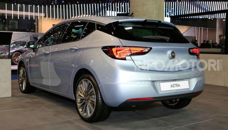 Opel Astra 2020: molto aerodinamica e tutta nuova - Foto 8 di 13
