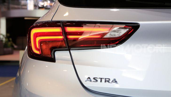 Opel Astra 2020: molto aerodinamica e tutta nuova - Foto 9 di 13