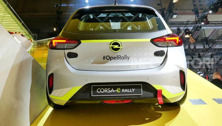 Opel Corsa-e, la prima auto da rally elettrica - Foto 3 di 17