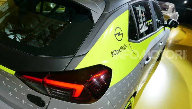 Opel Corsa-e, la prima auto da rally elettrica - Foto 15 di 17