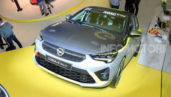 Opel Corsa-e, la prima auto da rally elettrica - Foto 13 di 17