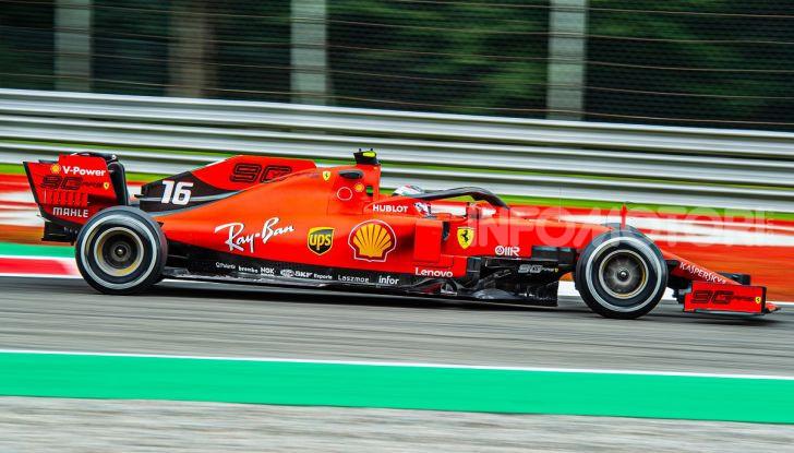 F1 2019, GP d'Italia: back-to-back di Leclerc a Monza, la Ferrari torna in vetta dopo nove anni di astinenza - Foto 13 di 103