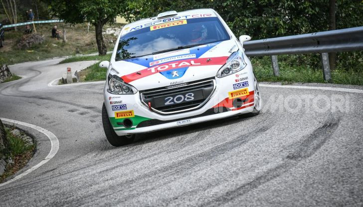 55° Rally del Friuli – Ennesima vittoria di Ciuffi e la PEUGEOT 208 - Foto 1 di 7