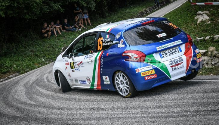 55° Rally del Friuli – Ennesima vittoria di Ciuffi e la PEUGEOT 208 - Foto 3 di 7