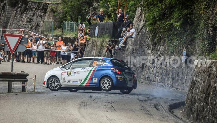 55° Rally del Friuli – Ennesima vittoria di Ciuffi e la PEUGEOT 208 - Foto 6 di 7