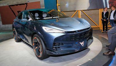 Cupra Tavascan Concept, il SUV coupé 100% elettrico