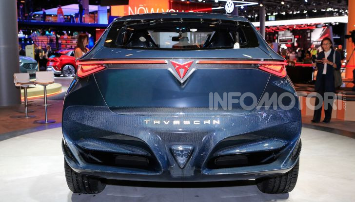 Cupra Tavascan Concept, il SUV coupé 100% elettrico - Foto 10 di 26