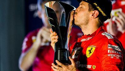 F1 2019, GP di Singapore: la Ferrari fa doppietta con Vettel che torna alla vittoria