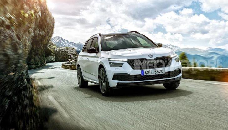 Skoda Kamiq Monte Carlo: il city SUV boemo è tutto nuovo - Foto 2 di 5