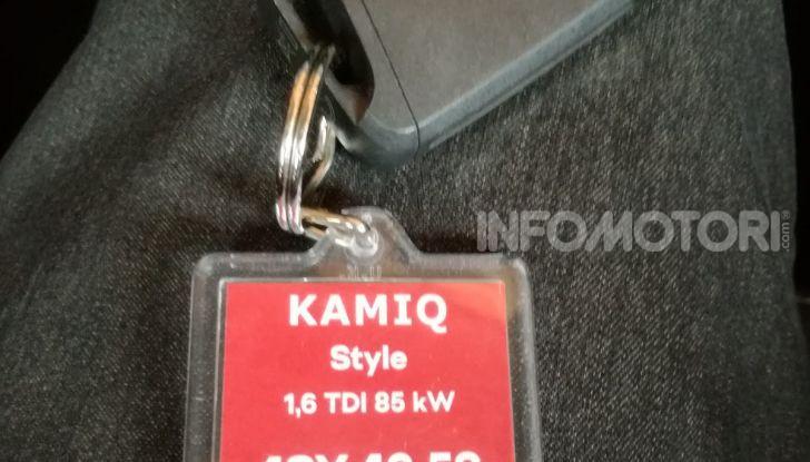 Prova su strada Skoda Kamiq: il terzo elemento della gamma SUV - Foto 33 di 39