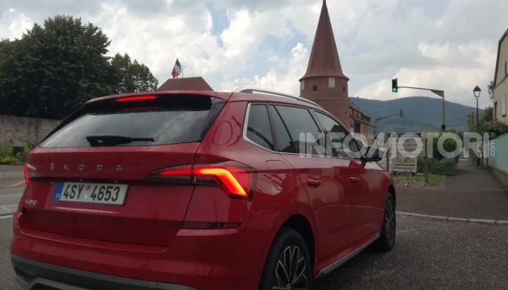 Prova su strada Skoda Kamiq: il terzo elemento della gamma SUV - Foto 35 di 39
