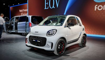 Smart 2020, solo elettrica: ancora più tecnologica ma senza emissioni