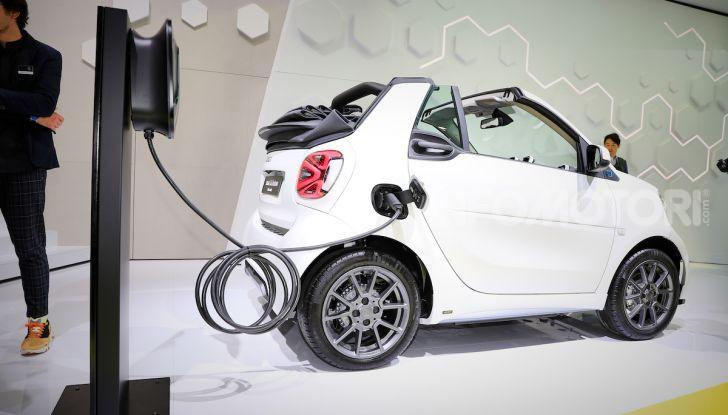 Smart 2020, solo elettrica: ancora più tecnologica ma senza emissioni - Foto 10 di 38