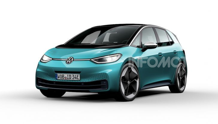 Volkswagen ID.3 R, la compatta elettrica dalle alte prestazioni - Foto 37 di 47