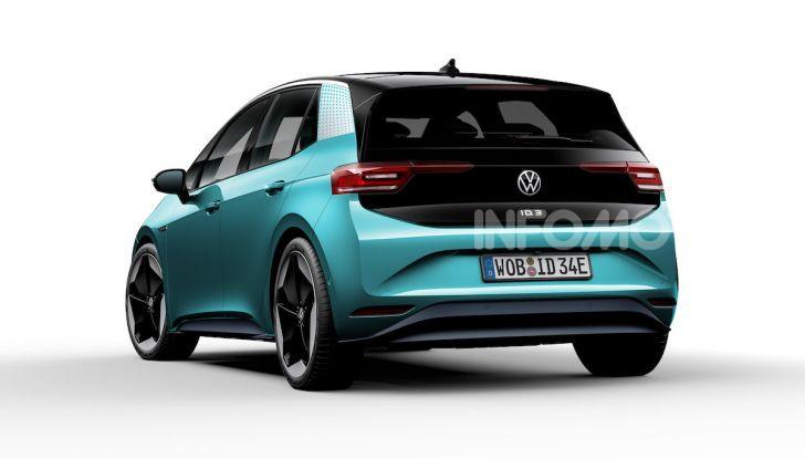 Volkswagen ID.3 R, la compatta elettrica dalle alte prestazioni - Foto 39 di 47