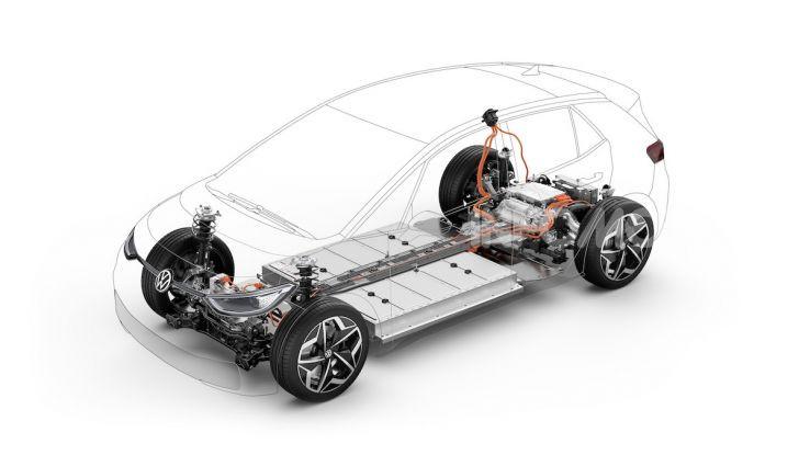Volkswagen ID.3 R, la compatta elettrica dalle alte prestazioni - Foto 42 di 47