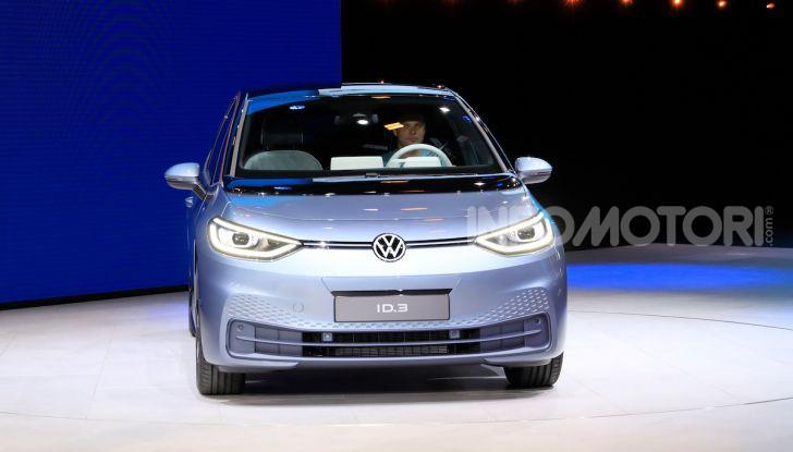 Volkswagen ID.3, la prima elettrica della famiglia ID VW - Foto 13 di 34