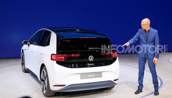 Volkswagen ID.3, la prima elettrica della famiglia ID VW - Foto 32 di 34