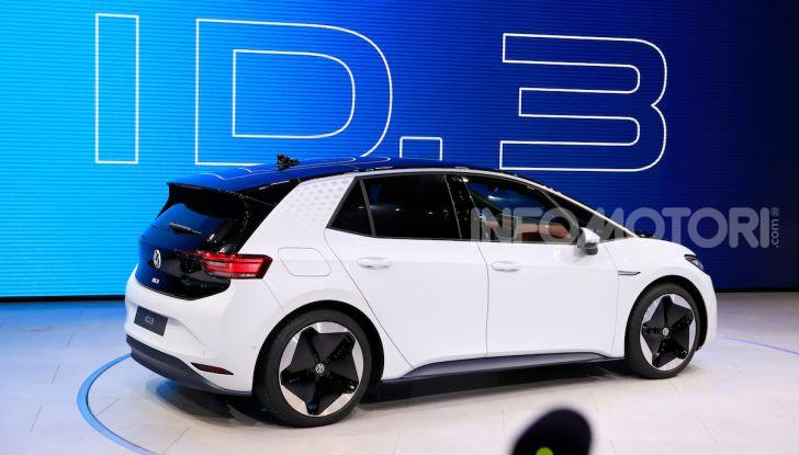 Volkswagen ID.3, la prima elettrica della famiglia ID VW - Foto 3 di 34
