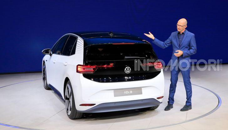 Volkswagen ID.3, la prima elettrica della famiglia ID VW - Foto 23 di 34