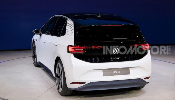 Volkswagen ID.3, la prima elettrica della famiglia ID VW - Foto 29 di 34