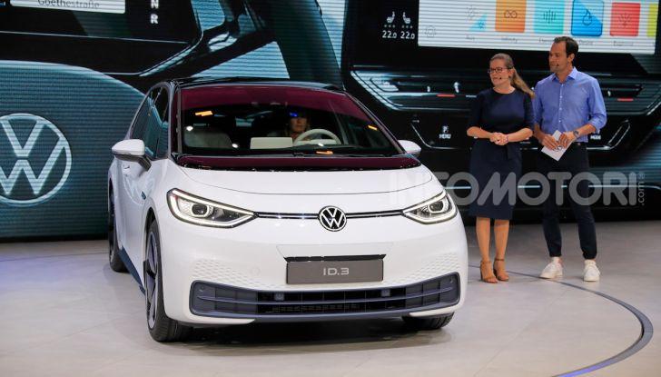 Volkswagen ID.3, la prima elettrica della famiglia ID VW - Foto 4 di 34