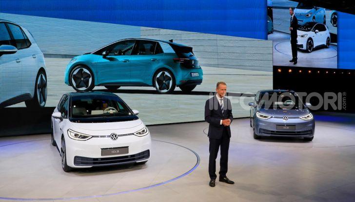 Volkswagen ID.3, la prima elettrica della famiglia ID VW - Foto 27 di 34