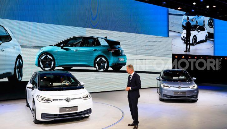 Volkswagen ID.3, la prima elettrica della famiglia ID VW - Foto 28 di 34