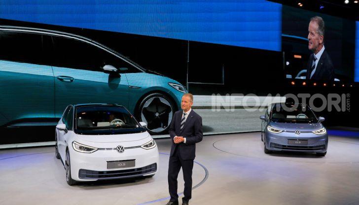 Volkswagen ID.3, la prima elettrica della famiglia ID VW - Foto 21 di 34