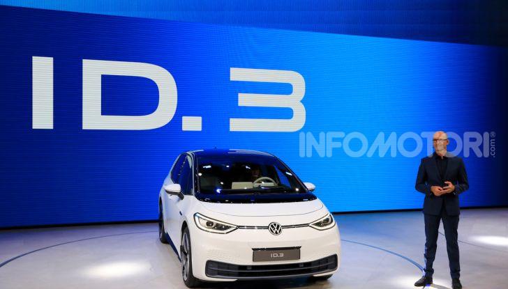 Volkswagen ID.3, la prima elettrica della famiglia ID VW - Foto 9 di 34