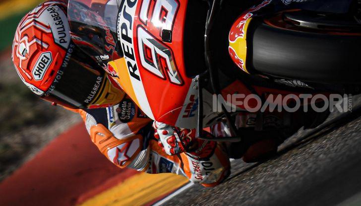 MotoGP 2019, GP di Aragon: Marquez centra la nona pole position stagionale davanti a Quartararo e Vinales - Foto 2 di 11