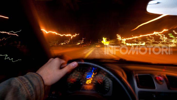 La visione al volante in caso di ebbrezza