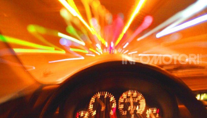 La distorsione visiva in caso di guida in stato di ebbrezza