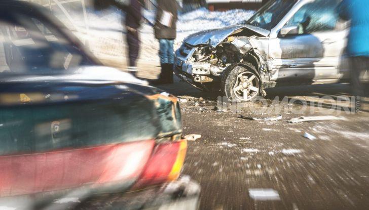 Le conseguenze di un incidente stradale tra automobilisti